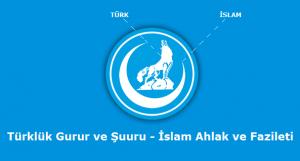 Ocakların sembolü olan Hilalli Bozkurt, Türklük'le İslam'ın uyumunu ifade eder.